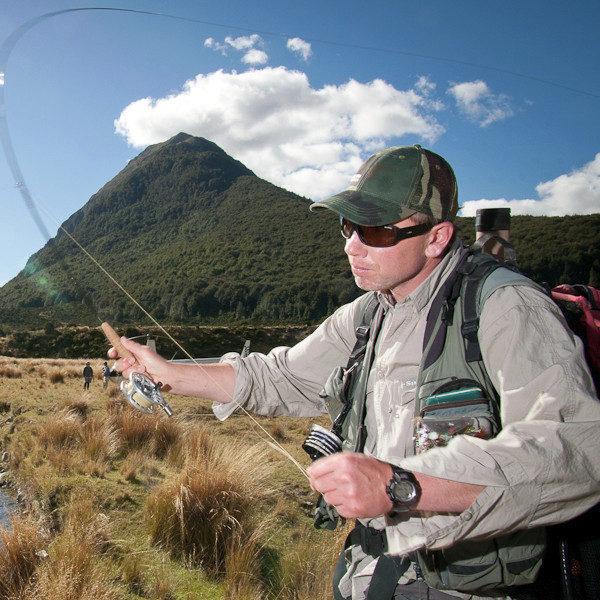 Heli Fishing